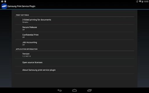 Samsung Print Service Plugin截图2