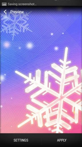 雪花 动态壁纸截图8