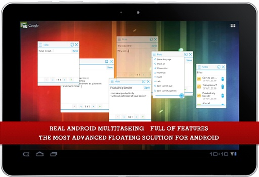 Floating Apps FREE - multitask截图2