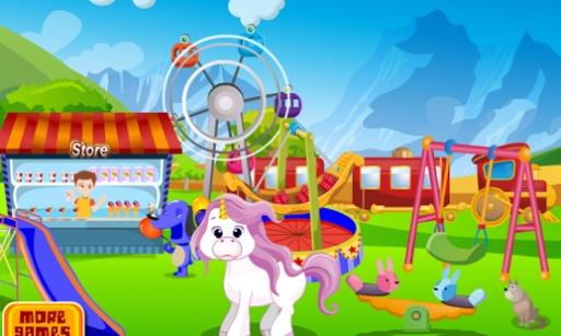 独角兽护理 - 儿童游戏截图3
