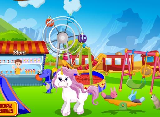 独角兽护理 - 儿童游戏截图9
