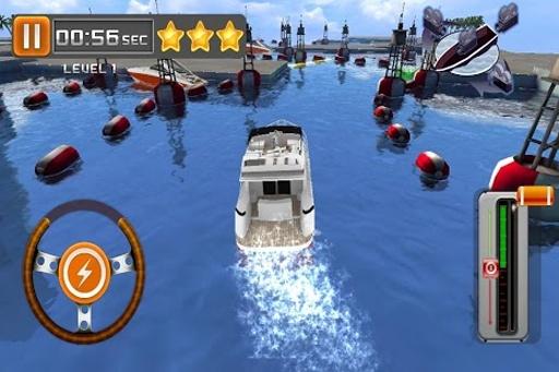 游艇停泊3D截图1