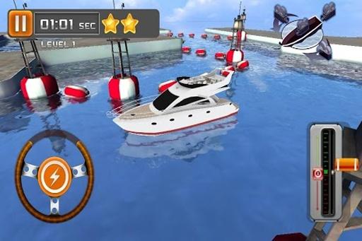 游艇停泊3D截图2