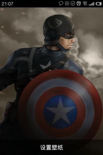 英雄系列之美国队长动态壁纸