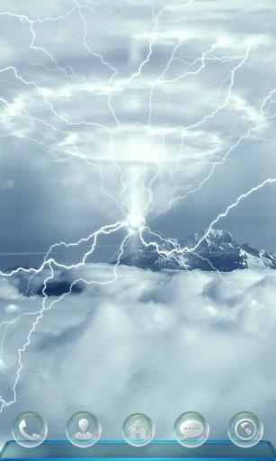 闪电雨-宝软3D主题