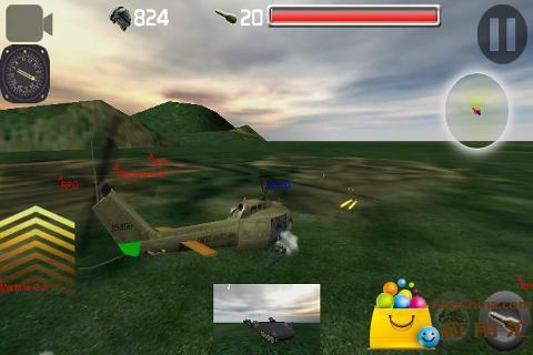 3D武装直升机截图2