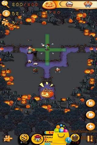 贪婪猪塔防万圣节版|玩策略App免費|玩APPs