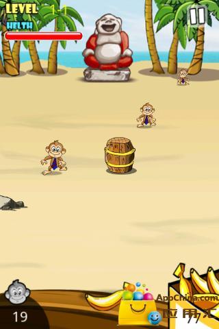 【免費策略App】猴子扔香蕉-APP點子