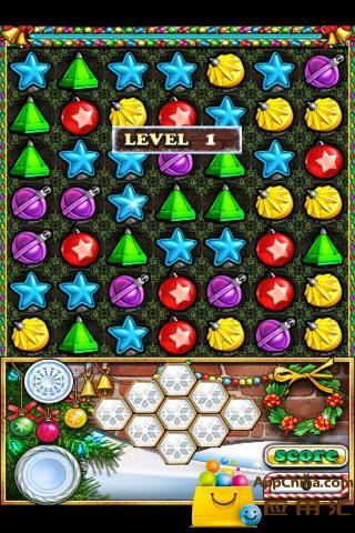 玩益智App|宝石迷阵圣诞版免費|APP試玩