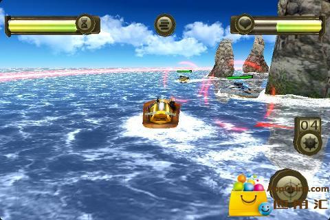 玩免費策略APP|下載3D战艇 app不用錢|硬是要APP