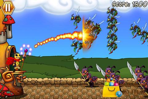 黄蜂防御截图1