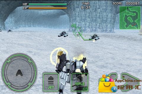 机器人大战毁灭枪手2截图1