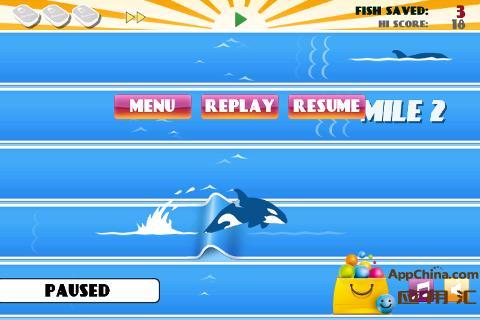 鲸鱼飞跃 動作 App-愛順發玩APP