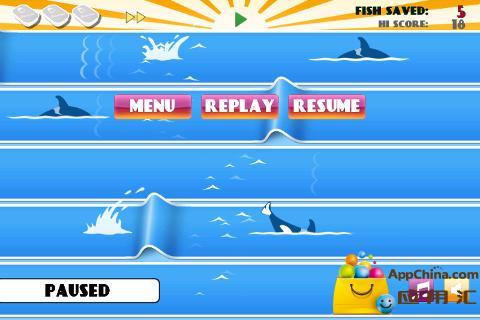 鲸鱼飞跃 動作 App-癮科技App