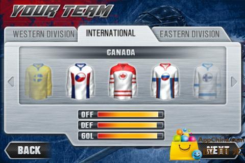 冰球联赛2011截图1