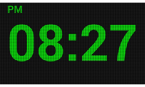 LED数字时钟截图0