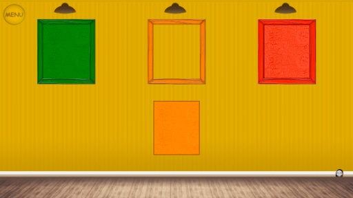 橙色边框简单又漂亮
