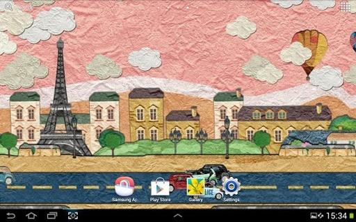"""""""法国巴黎""""美丽的风景在等待着你在这个免费的应用"""