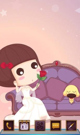 爱与玫瑰-宝软3D主题