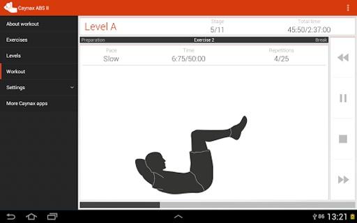 腹部锻炼截图0