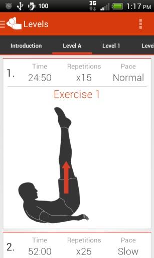 腹部锻炼截图4