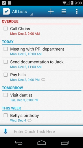 SplenDO 待办事项列表 | 任务列表截图8