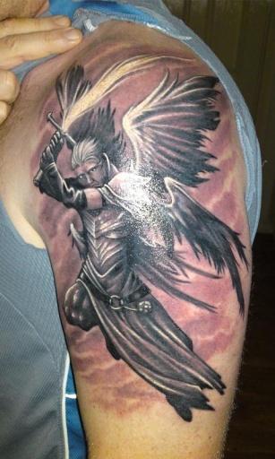 纹身手机壁纸男