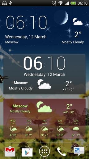 彩色天气屏幕截图3
