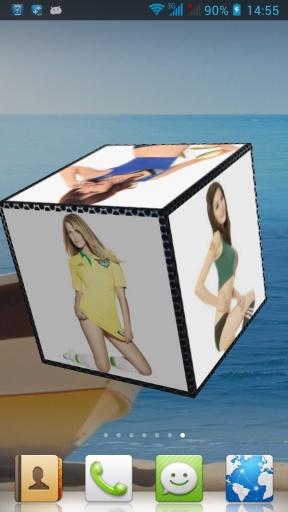 性感足球宝贝3D动态壁纸