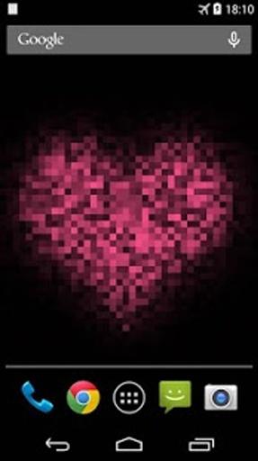 Pixel! 爱心动态壁纸截图1