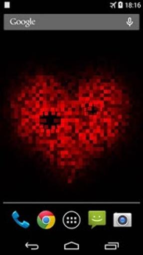 Pixel! 爱心动态壁纸截图2