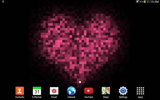 Pixel! 爱心动态壁纸截图5