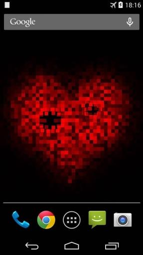 Pixel! 爱心动态壁纸截图8