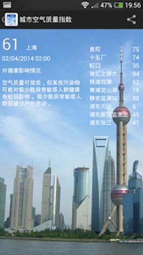 中国 PM2.5截图1