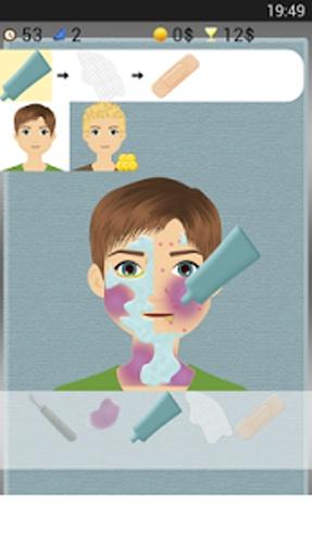 皮肤医生的游戏可以让你治疗皮肤问题.皮肤医生游戏是免费的.