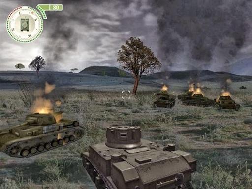 疯狂的坦克游戏截图0