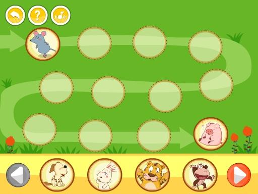 呆呆超人-生肖排排队(幼儿益智游戏)-黄金教育 益智 App-癮科技App