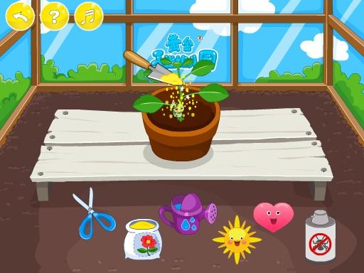 玩免費益智APP|下載小朋友的黄金花园-种植类益智游戏(认识花朵)-黄金教育 app不用錢|硬是要APP