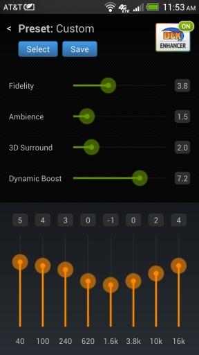 DFX音乐播放器Pro截图1