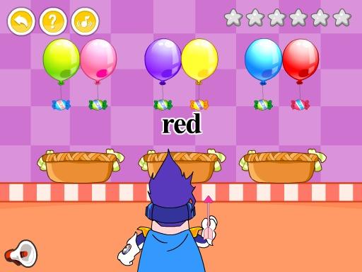 呆呆超人学英语-Shooting 幼儿英语游戏 -黄金教育