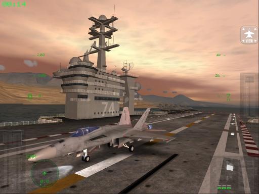 F18模拟起降截图0