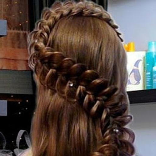 发型.法国辫子