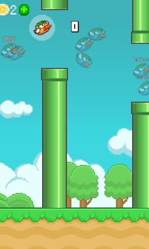 【免費益智App】Flappy Birds Online-APP點子