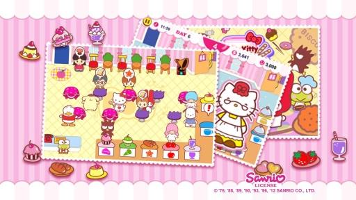 Hello Kitty 咖啡厅- 万圣节篇截图3