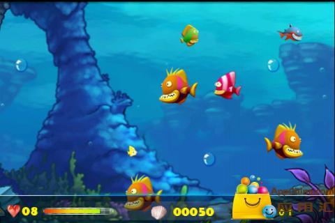 饥饿的鱼 益智 App-愛順發玩APP