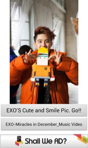 EXO的可爱和微笑图片
