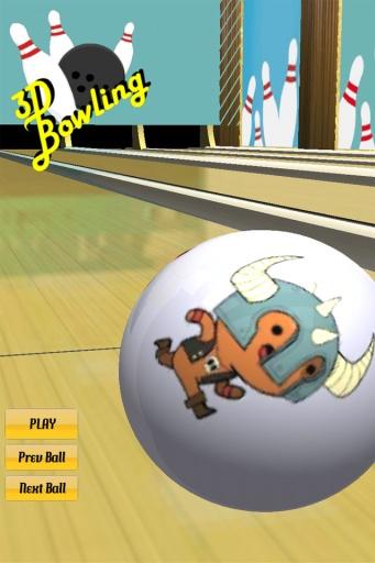 玩免費體育競技APP|下載3D保龄球 app不用錢|硬是要APP