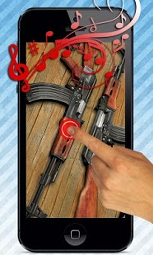 AK-47步枪枪声音的AK47