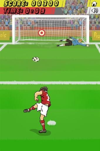 暴力足球射门截图1