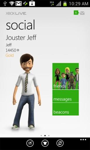 Xbox LIVE查看